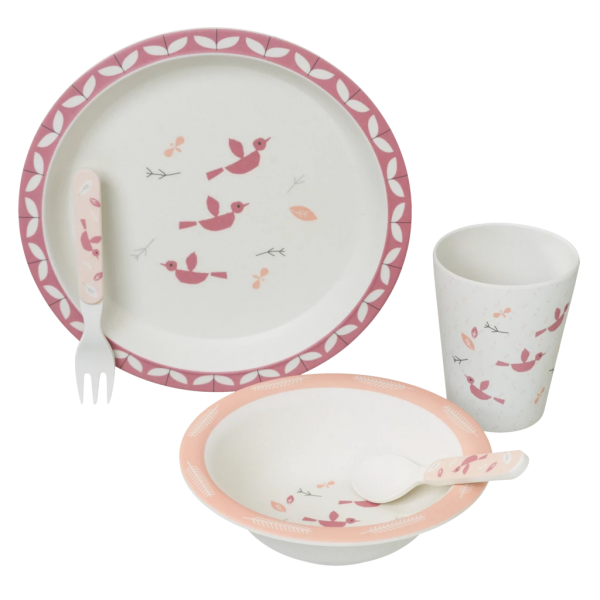 Set pappa in bamboo Fresk