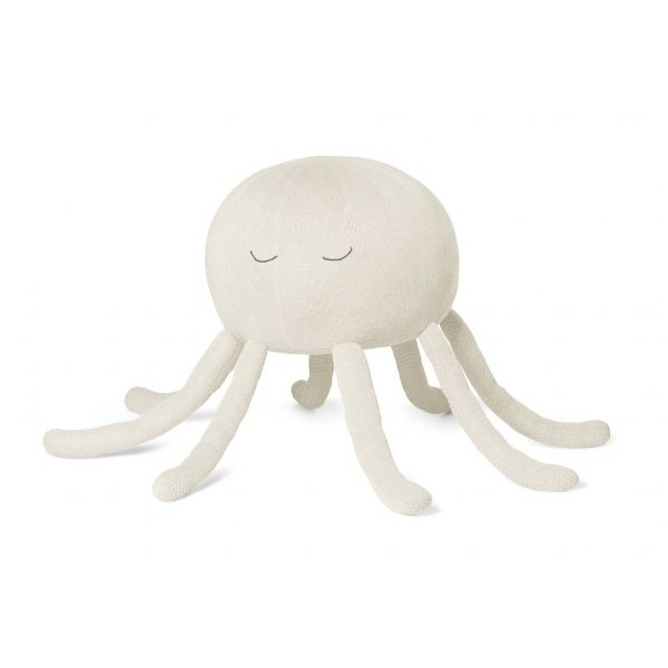 Octopus pouf in cotone organico Poofi