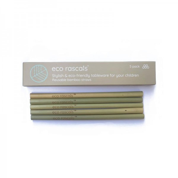 Cannucce in bamboo Eco Rascals