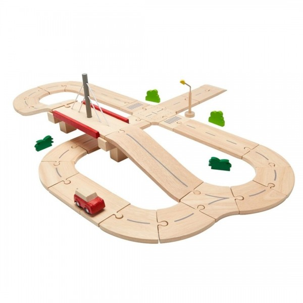 Road system in legno Plan Toys